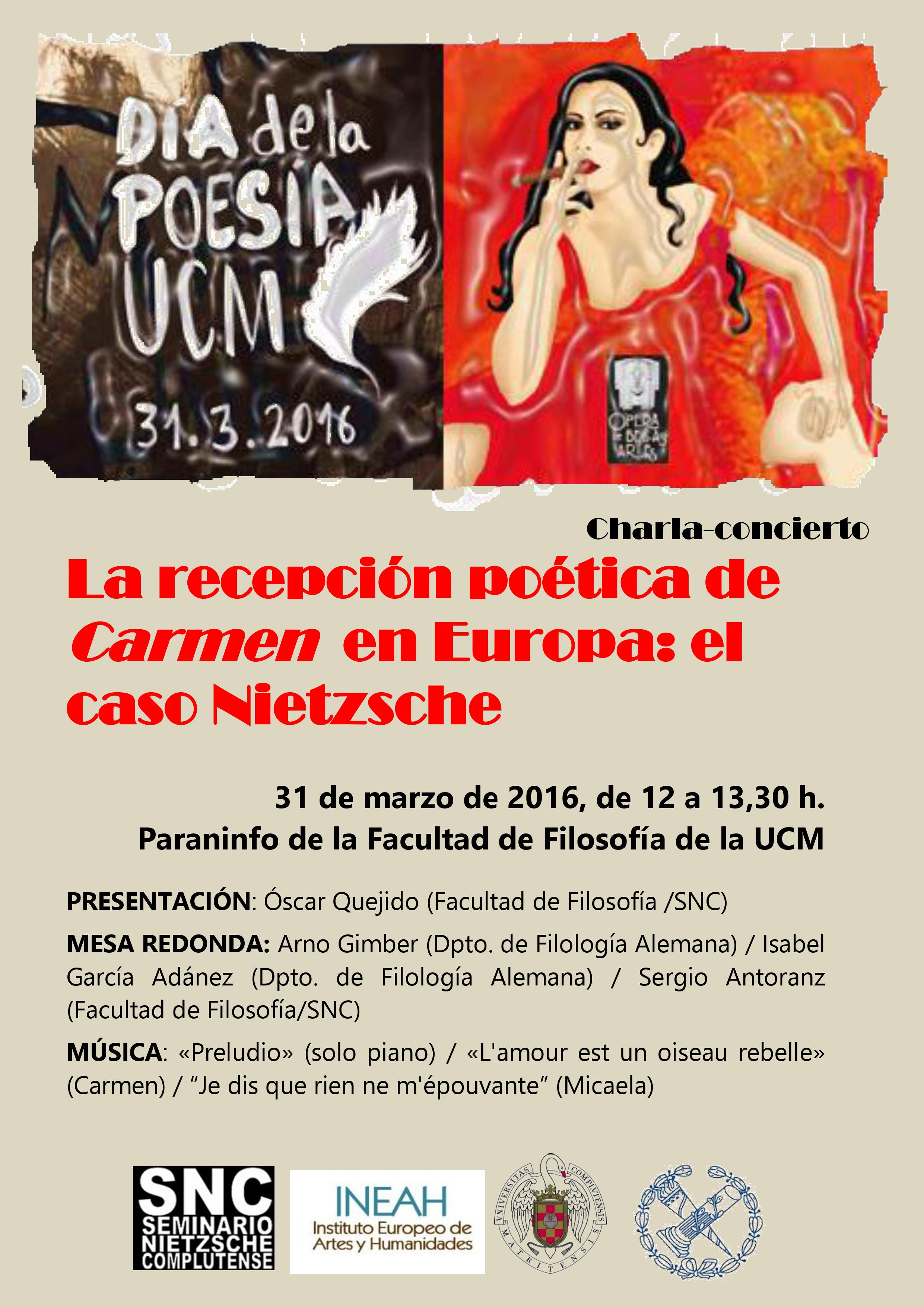 cartel CARMEN